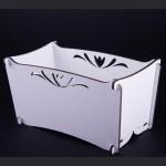 Kadica sa ornamentom mala (Četvrtaste kutije) - www.dekorativnekutije.co.rs
