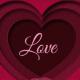 Crvena 3D Love
