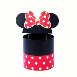 Karton Okrugla Minnie Mouse 3kom/set