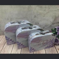 Koferče šareno L